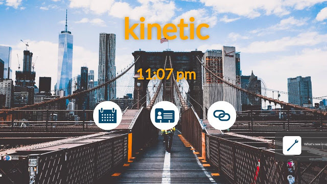 kinetic screen